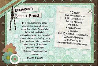 Strawberry banana bread1