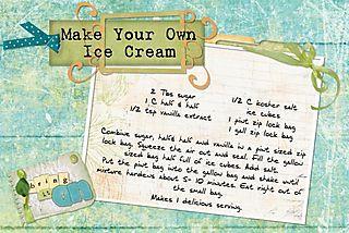 Make your ice cream