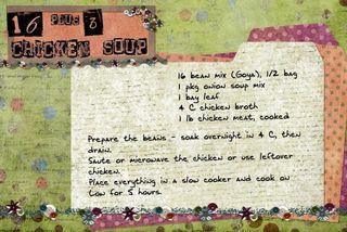 16 plus 3 soup