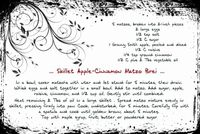 Skillet apple cinnamon matzo brei