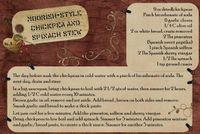 Moorish style chickpeas and spinach stew