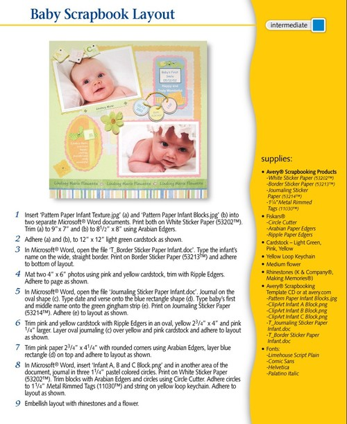 Baby_scrapbook_page