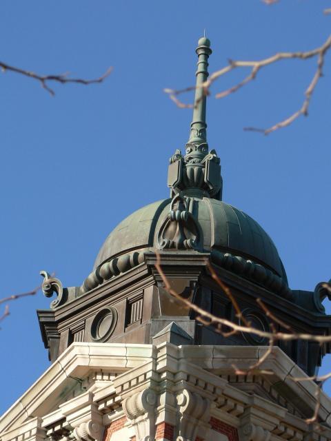 Top of Main Building on Ellis Island
