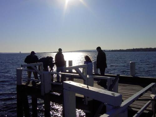 Shooting_on_the_dock